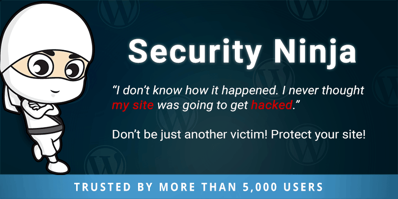 Protect your WordPress website with the free Security Ninja plugin for WordPress