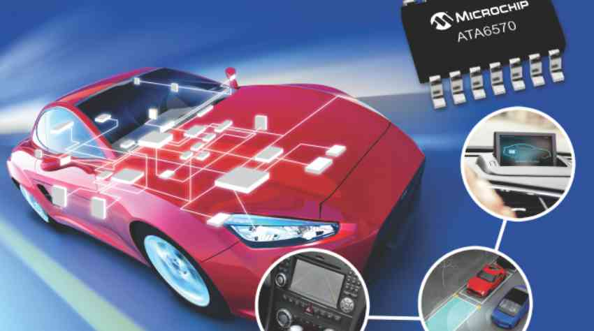 Industry's first CAN Flexible Data-rate and CAN Partial Networking transceiver family includes automotive Grade 0 qualified parts