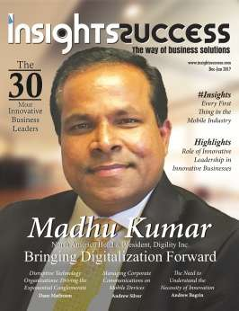 Cover Page - Madhu Kumar Bringing Digitalization Forword - Insights Success