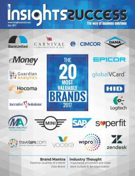 Cover Page - 20 Most valuable brands 2017 - Insights Success