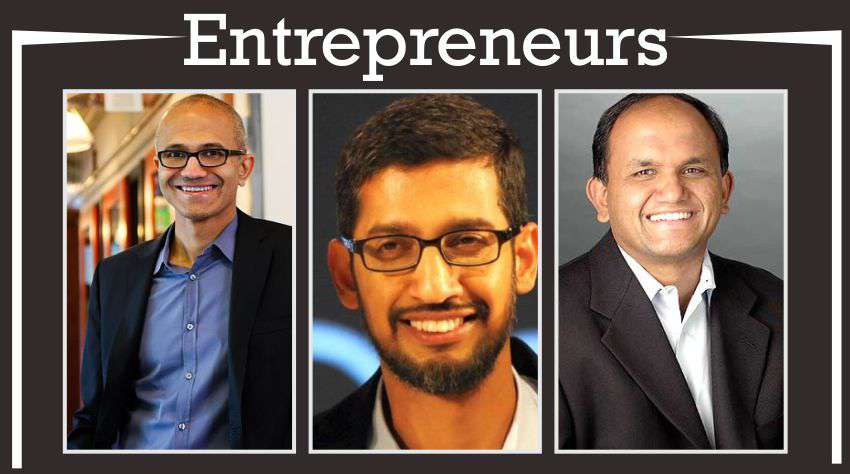 Indian Business Personalities Leading Global Market