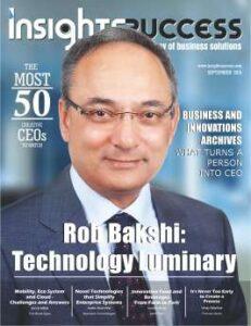 Rob bakshi: Technology Luminary