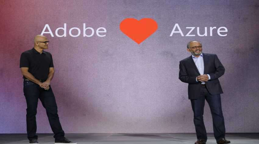 Microsoft and Adobe signs for Azure cloud computing services