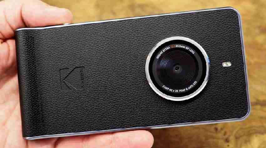 Kodak Ektra Smartphone with 21Megapixel primary camera launched - Insights Success