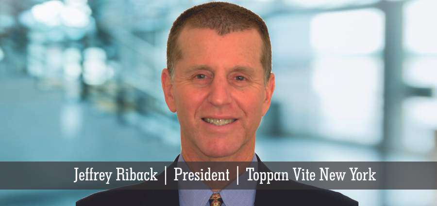 Jeffrey Riback | President | Toppan Vite New York - Insights Success