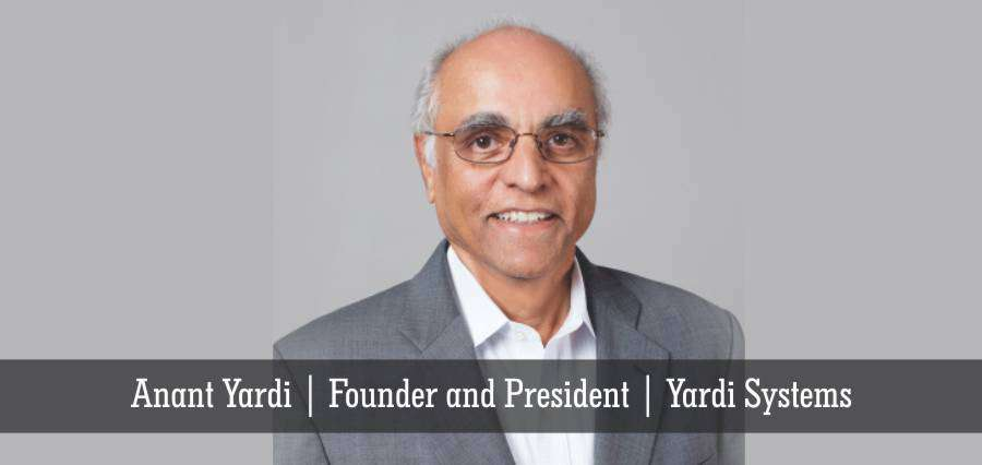 Anant Yardi | Founder and President | Yardi Systems - Insights Success