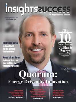 Cover Page - The 10 most fastest growing Utilities & Energy solution provider companies - Insights Success