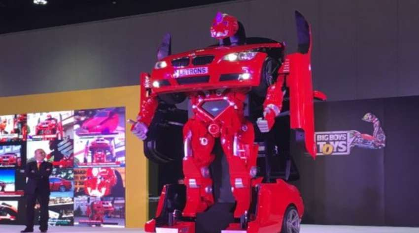 Real Life Transformer for $600,000 could be yours - Insights Success