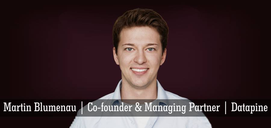 Martin Blumenau | Co - founder & Managing Partner | Datapine - Insights Success