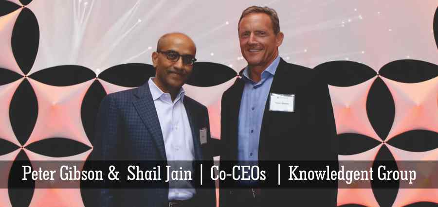 Peter Gibson | Shail Jain | Co - CEOs | Knowledgent Group - Insights Success
