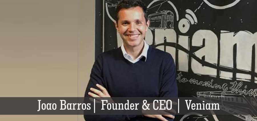 Joao Barros | Founder & CEO | Veniam - Insights Success