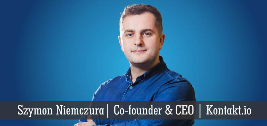 Szymon Niemczura | Co-Founder & CEO | Kontakt.io - Insights Success