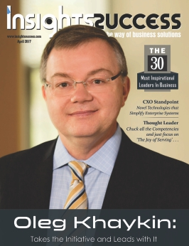 Cover Page - The 30 Most Inspirational Leaders in Business April2017- Insights Success