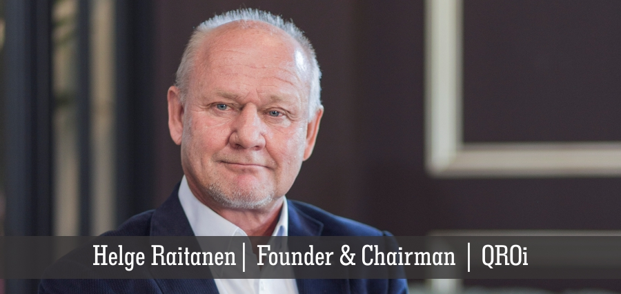 Helge Raitanen | Founder & Chairman | QROi - Insights Success