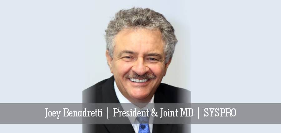 Joey Benadretti | President & Joint MD | SYSPRO - Insights Success