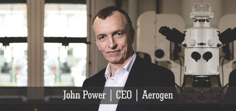 John Power | CEO | Aerogen - Insights Success