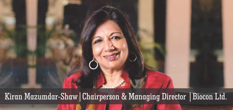 Kiran Mazumdar Shaw | Chairperson & Managing Director | Biocon LTD. - Insights Success