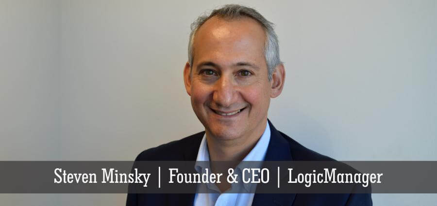 Steven Minsky | Founder & CEO | LogicManager - Insights Success