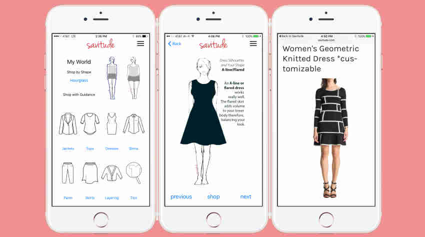 An App To Search Clothes For Your Body Shape Insights