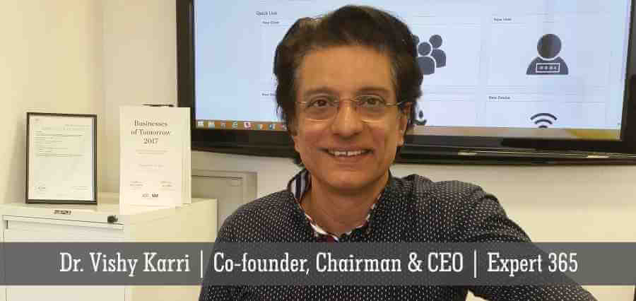 Dr. Vishy Karri | Co - Founder, Chairman & CEO | Expert 365 - Insights Success