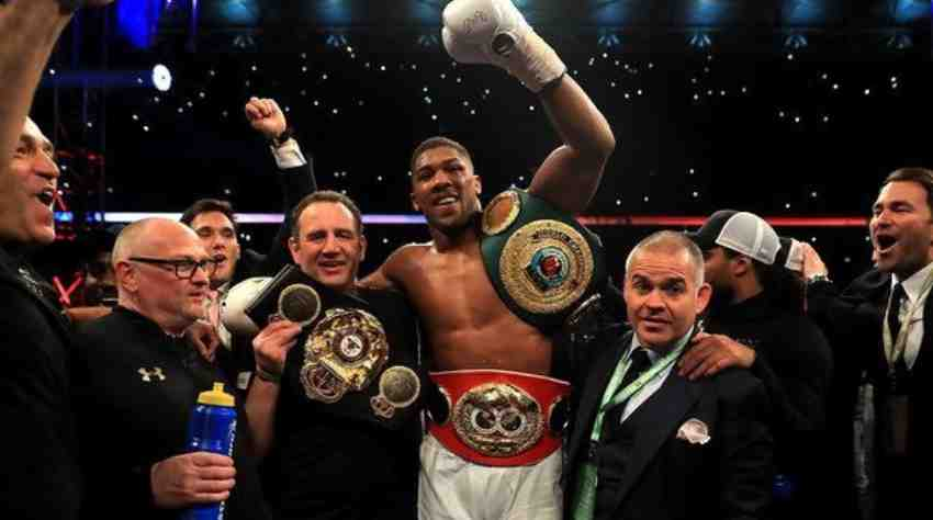The newest unified world heavyweight champion - Anthony Joshua - Insights Success