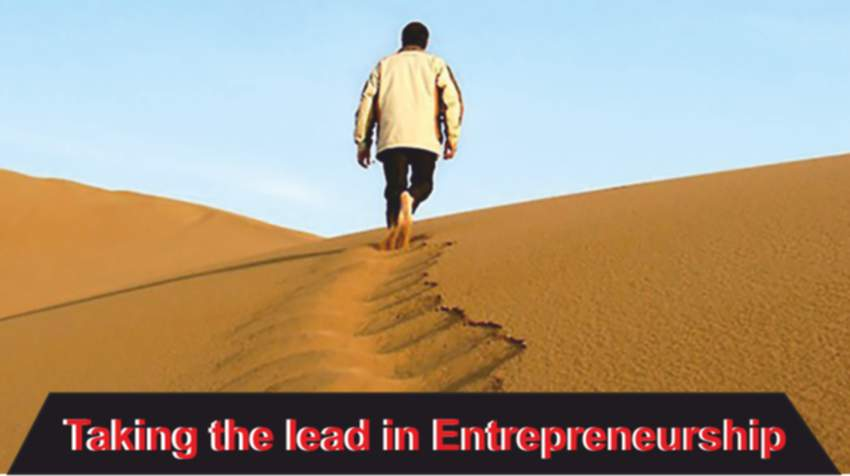 Taking the lead in Entrepreneurship - Insights Success