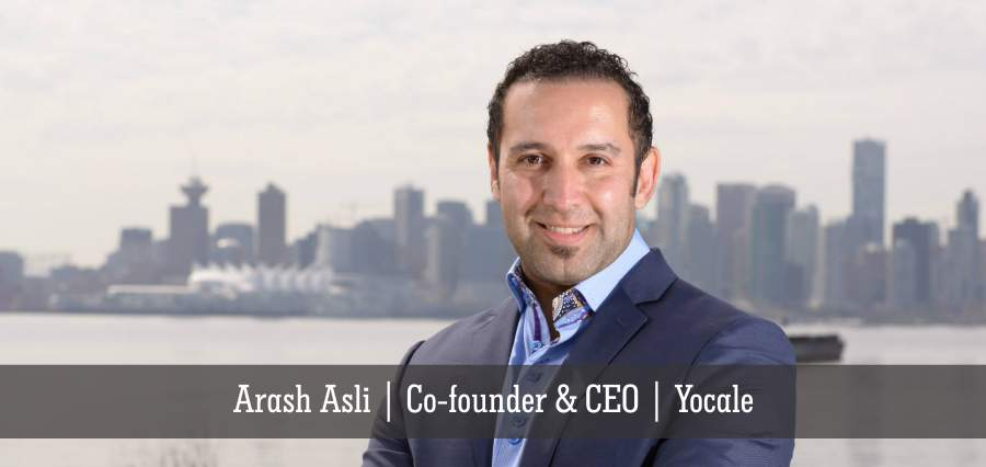 Arash Asli | Co-founder & CEO | Yocale - Insights Success