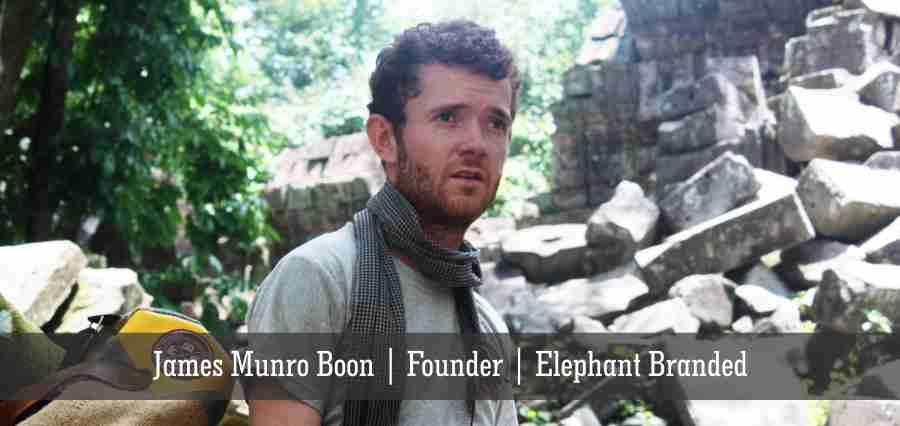 James Munro Boon | Founder | Elephant Branded - Insights Success