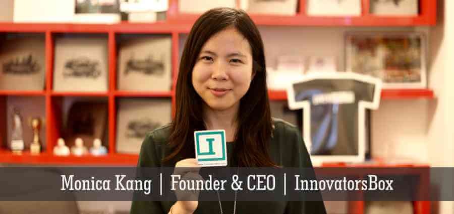 Monica Kang | Founder & CEO | InnovatorsBox - Insights Success