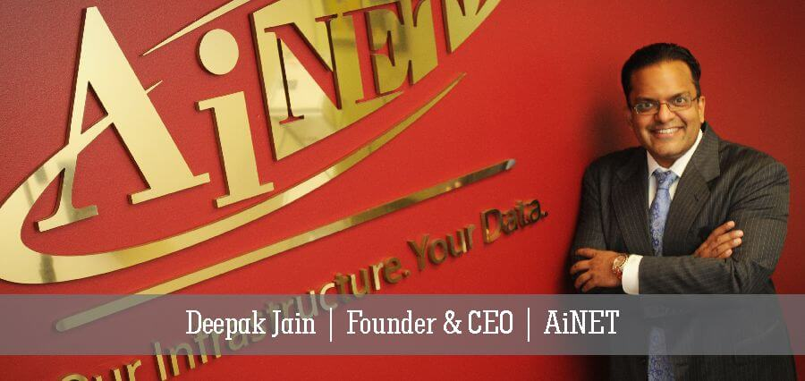 Deepak Jain | Founder & CEO | AiNET - Insights Success