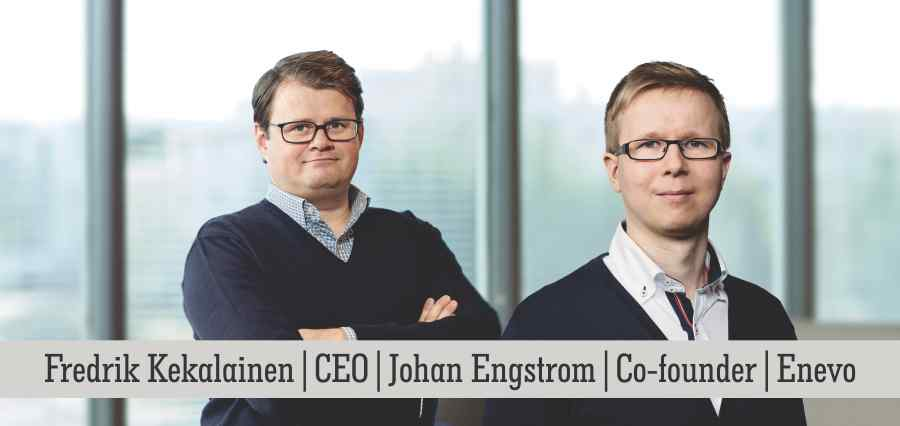Fredrik Kekalainen | CEO | Johan Engstrom | Co-Founder | Enevo - Insights Success