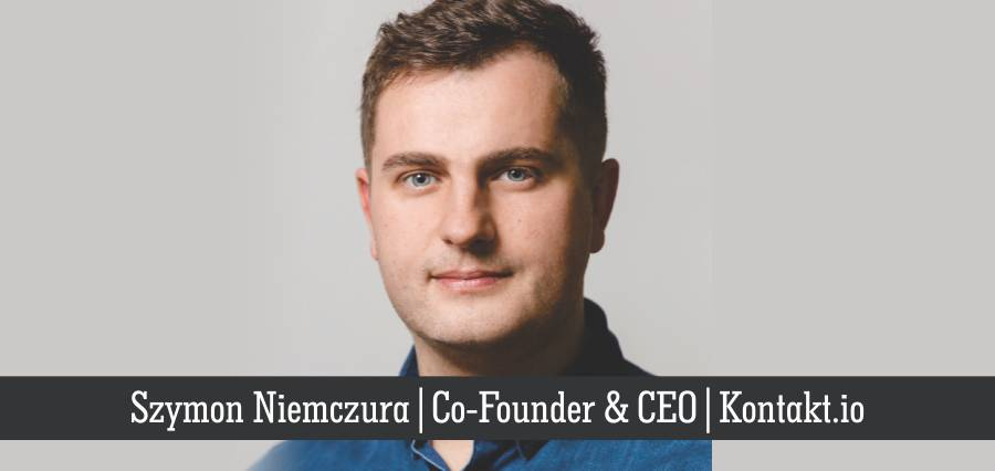 Szymon Niemczura | Co- Founder & CEO | Kontakt.io - Insights Success