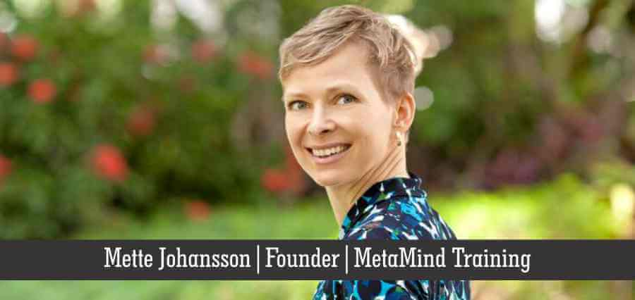 Mette Johansson | Founder | MetaMind Training - Insights Success