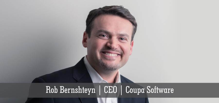 Rob Bernshteyn | CEO | Coupa Software - Insights Success