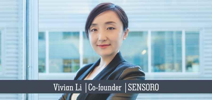 Vivian Li   Co- Founder   Sensoro - Insights Success