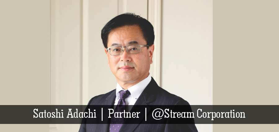 Satoshi Adachi | Partner | @Stream Corporation - Insights Success