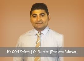 Mr. Sohil Kothari | Co-Founder | Prodware Solutions - Insights Success