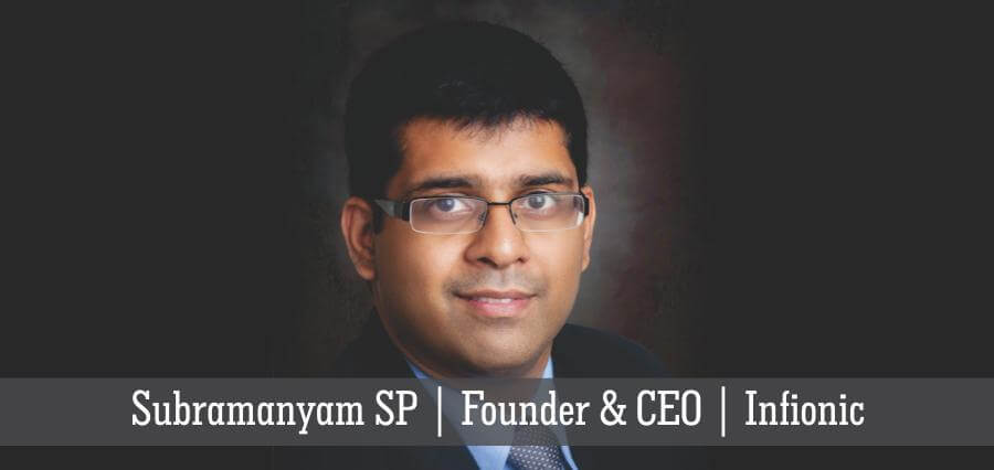 Subramanyam SP | Founder & CEO | Infionic - Insights Success