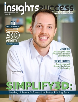 Cover Page - The 10 Most innovative 3D Printing Solution Providers - Insights Success