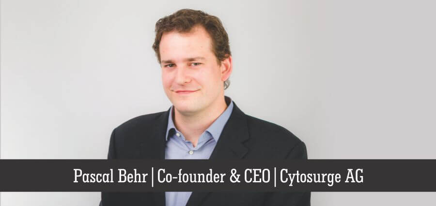 Pascal Behr | Co-Founder & CEO | Cytosurge AG - Insights Success