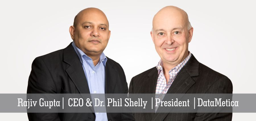 Rajiv Gupta | CEO & Dr. Phil Shelly | President | DataMetica - Insights Success