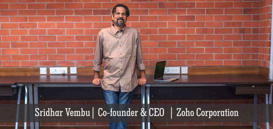 Sridhar Vembu | Co - Founder & CEO | Zoho Corporation - Insights Success