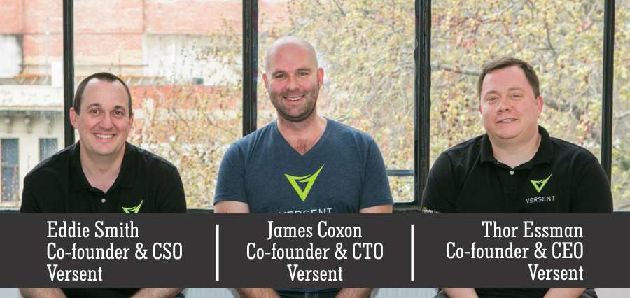 Thor Essman | Co-Founder & CEO | James Coxon | Co-Founder & CTO | Eddie Smith Co-Founder & CSO | Versent - Insights Success