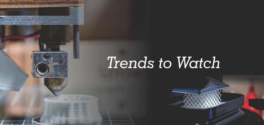 Trends that will Shape the Future of 3D Printing- Insights Success
