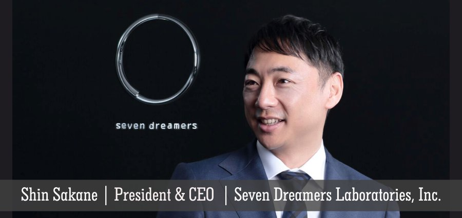 Shin Sakane | President & CEO | Seven Dreamers Laboratories, Inc - Insights Success