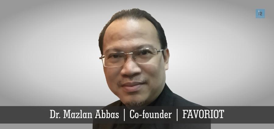 Dr. Mazlan Abbas | Co-founde | FAVORIOT | Insights Success
