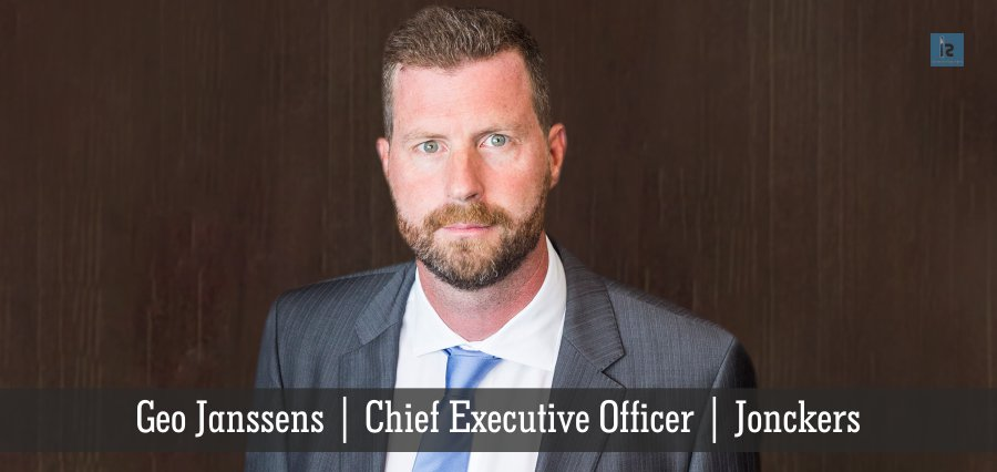 Geo Janssens | Chief Executive Officer | jonckers | Insights Success
