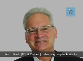 John R. Riconda , CEO & President , Contemporary Computer Services Inc ( small )