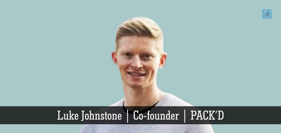 Luke Johnstone | Co- Founder | PACK'D | Insights Success