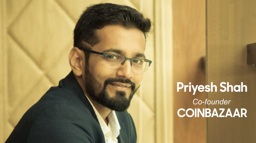 Priyesh Shah | Co-Founder | CoinBazaar - Insights Success